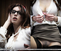 Azura Starr - Secretary 1 - The Life Erotic