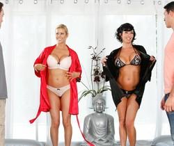Veronica Avluv, Alexis Fawx - Hotel Room Mishap