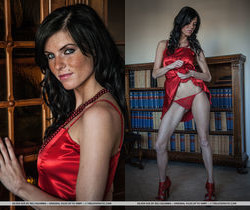 Eileen Sue - Miss Scarlet In The Library - The Life Erotic