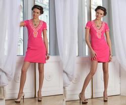 Lucy G - Pink Dress - Stunning 18