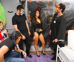 Sophia Leone - Halloween Dress Down - Dare Dorm