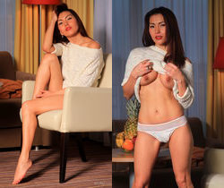 Agnes A - Sweat Pineapple - Erotic Beauty