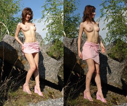 Jini - Walking In Nature 1 - Erotic Beauty