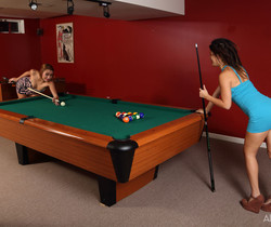 Daisy Haze, Marina Angel - Pool Hall Junkies - ALS Scan