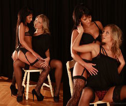 Nia Black, Vanda Lust - Stripper Training - Viv Thomas