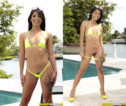 Gina Valentina, Aubrey Rose - Oil Me Next - We Live Together