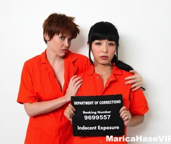 New inmate Marica meets prison bully Lily - Marica Hase