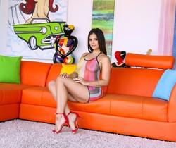 Violet Starr - Busty Florida Teen's Porn Audition