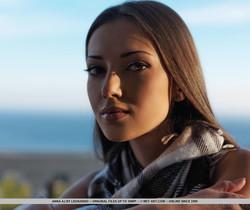 Anna AJ - Cadreza - MetArt