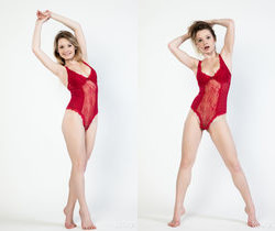 Malinda - Merah - Rylsky Art