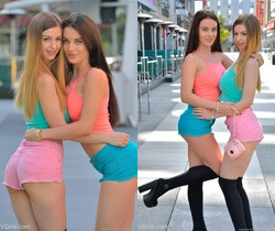 Lana Rhoades & Stella Cox - Oral Intimacy - FTV Girls