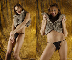 Dominika - Cow Hide Beauty 2 - Erotic Beauty