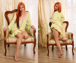 Fannie G - Green Chair - Stunning 18