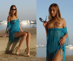 Alizeya A - Sandy Beach - Erotic Beauty
