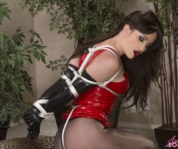 Angela Sommers - Angela Tied Up Brunette