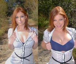 Ginger Blaze - Big Tits Huge Dicks