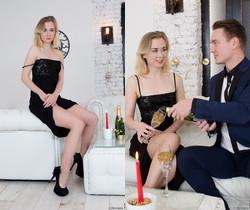 Via Lasciva - Pop My Champagne - 21Sextury