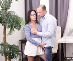 Big Tits Brunette Chanel Lux Enjoys Anal - Private