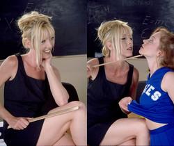Anna and Lisa - Horny Lesbian GFs