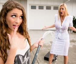Rebel Lynn, Alexis Fawx - Chore Duty Part 2 - Girlsway