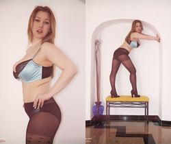 Lyla Ashby - A Perfect Example - More Than Nylons