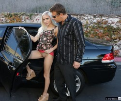 Blonde Naomi Woods Gets Plowed In A Car - Lethal Hardcore