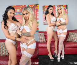 Missy and Madelyn Monroe May Look Innocent In White