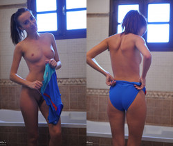 Sophia Smith - Members Request-Swimsuit And Tights