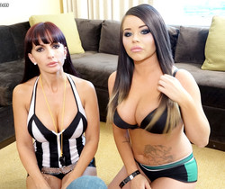 Catalina Cruz, Rachele Richey & Onyx Muse foursome