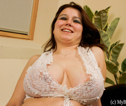 Iza Curver play with her bigtits - My Boobs
