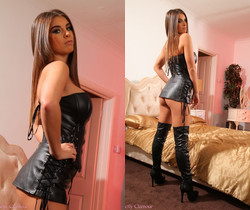 Sarah James Leather - Strictly Glamour