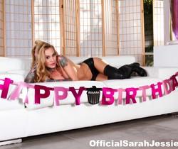 Sarah Jessie gives Brad a very special Birthday surprise