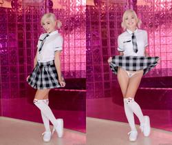 Eliza Jane - Blonde Schoolgirl pre-scene