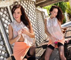 Sophia Smith - Table Top - Sophia's Sexy Legwear