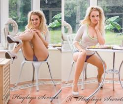 Shelly Roberts - Naughty Tease - Hayley's Secrets