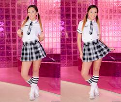 Jaye Summers - Schoolgirl Jaye's Anal Education - Evil Angel
