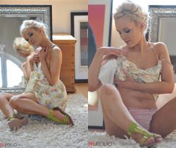 Faye Taylor - Pink Lipstick - Girlfolio