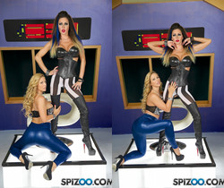 Jessica And Cherie Robot Blowjob - Jessica Jaymes - Spizoo