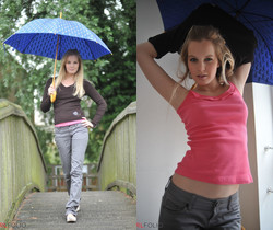 Rose - Rainy Day - Girlfolio