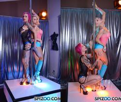 Anna Bell Alix Stripper Virtual - Alix Lynx - Spizoo