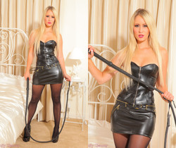 Candice Leather Skirt - Strictly Glamour
