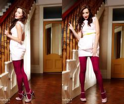 Sophia Smith - Sweet Cranberry - Sophia's Sexy Legwear