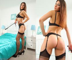 Sabrina C Pvc Ling - Strictly Glamour