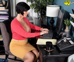 Shay Fox - Creampie for the busty MILF - 40 Something Mag