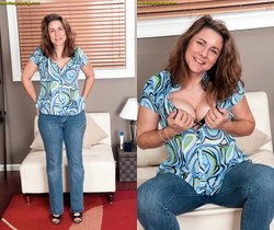 Gia Marie - A Practising Cougar! - Naughty Mag