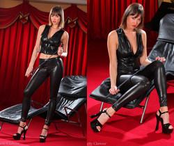 Carol - C Black Leggings - Strictly Glamour