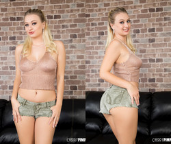 Blonde Babe Natalia Starr Gives It Her All  - Cherry Pimps
