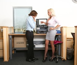 Alena Croft - Big Tit Office Chicks