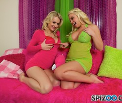 Britney And Natasha Game Night - Britney Amber, Natasha Star