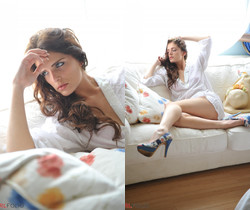 Lucy Blackburn - Lucy's Blue Shoes - Girlfolio